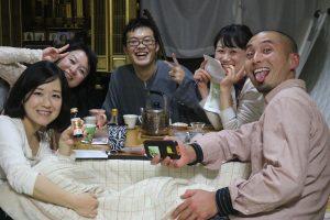 神戸・垂水名物 わらい市の鍋ミーティング