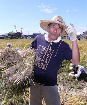 滋賀の農家 堀田金一郎さん