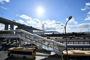 眺めのよい景色 from 舞子駅【神戸シェアハウス和楽居グランブルー】