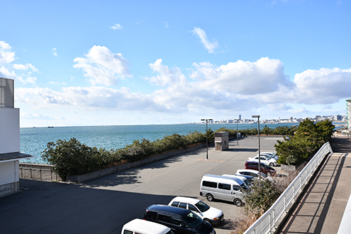 舞子から見る空と海【神戸シェアハウス和楽居グランブルー】