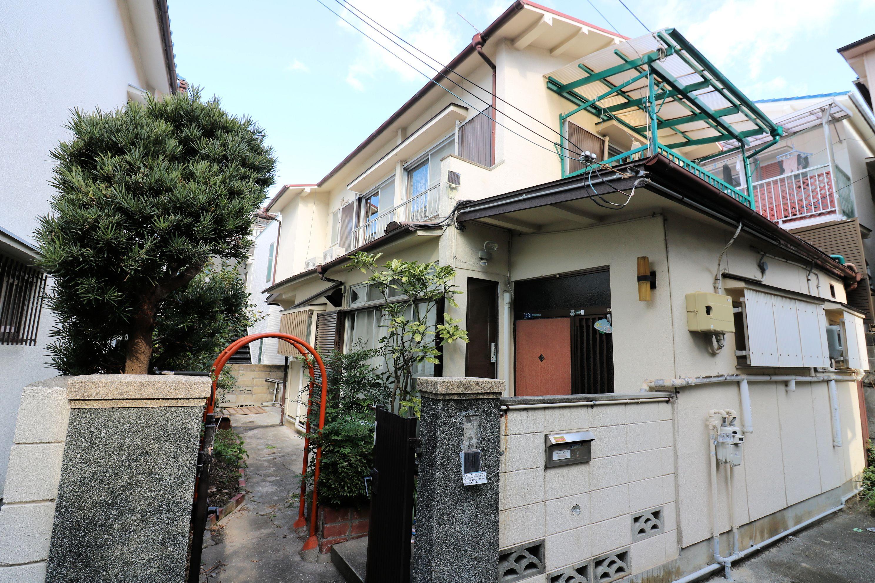 外観【神戸シェアハウス和楽居ガーデン】