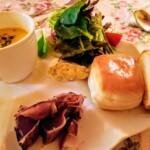 Olive スープ・前菜・パン