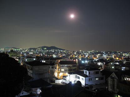 和楽居オーガニック屋上からの夜景
