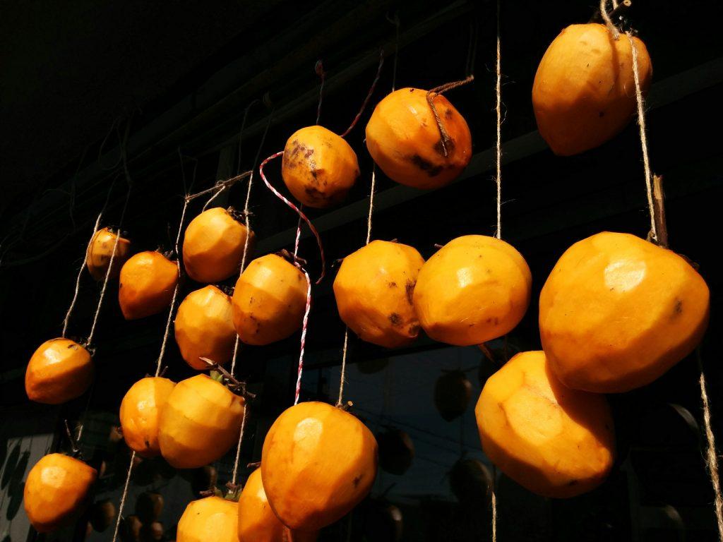 大きな干し柿
