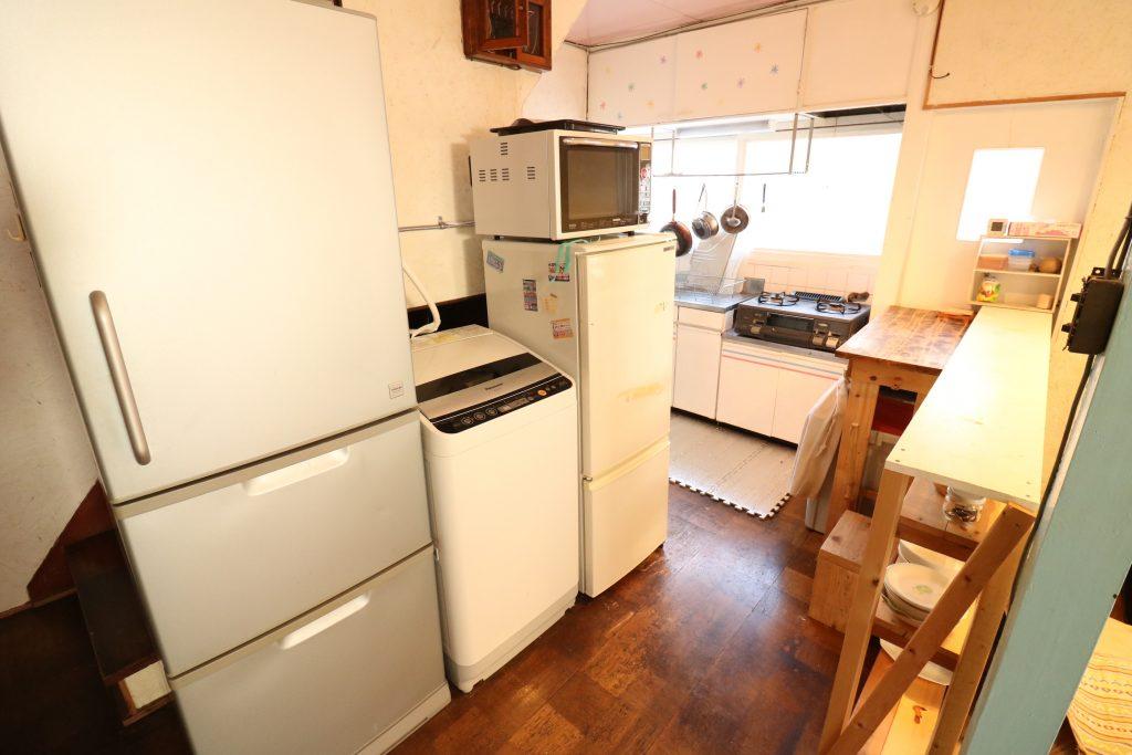 冷蔵庫は2つあります。