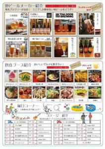 地ビール & フード & ステージ参加者リスト