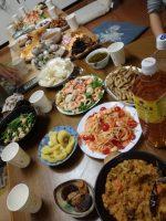 豪華な食事たち