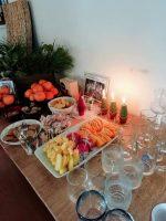 フルーツと装飾