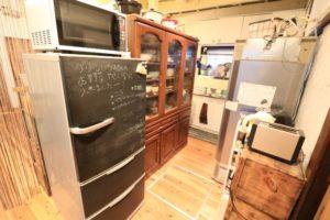 冷蔵庫2台&食器棚