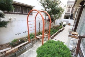 ガーデンの庭・菜園スペース