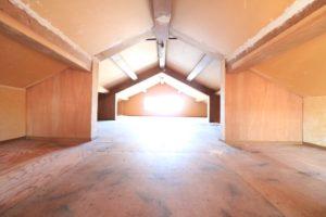3階 屋根裏部屋 ドッグランや物置の予定(共用)