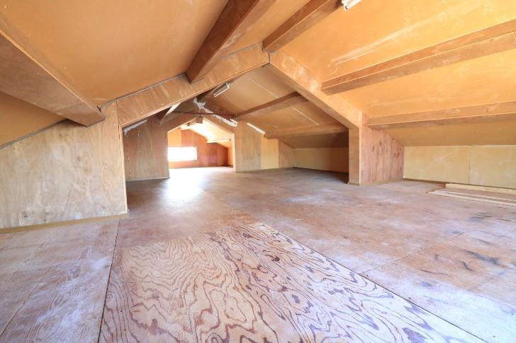 3階 屋根裏部屋 ドッグランや物置の予定2(共用)