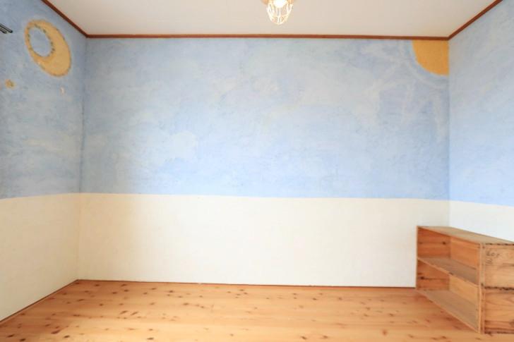 アーチ201【月と太陽・シーグラスでアートな部屋】