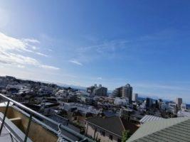 """和楽居オーガニックの屋上から""""眺め最高!"""""""