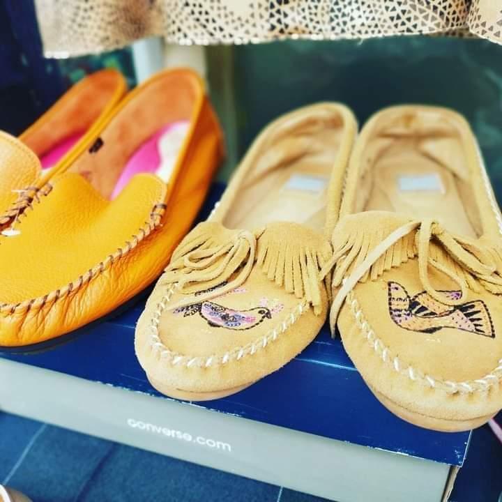 お洒落な靴もある